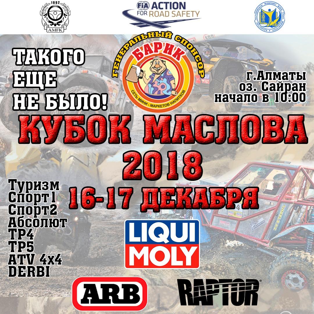 Кубок Маслова 2018