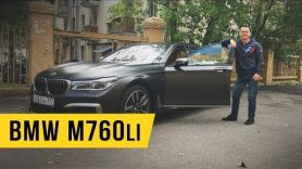 Тест драйв BMW M760li. Бизнес седан в кроссовках