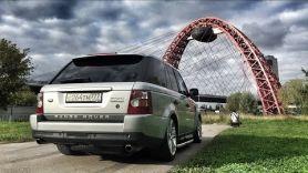 Купил Range Rover Supercharged за 500 тысяч рублей. Он уже сломался