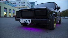 Блэк Джек / Тюнинг ВАЗ 2107 на 200 000 рублей. Последние штрихи