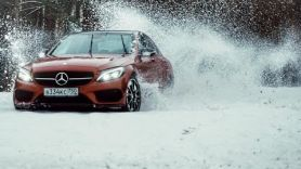 Бородатая Езда. Mercedes-Benz C450 AMG