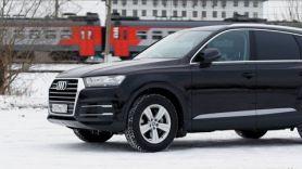 2017 Audi Q7. Отзыв владельца о качестве. Обзор от Лиса Рулит.