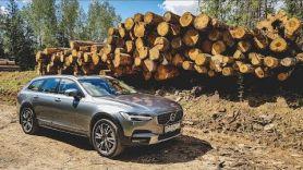 Бородатая Езда. Volvo V90 Cross Country. Праздник для детей
