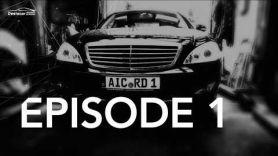 Замена рычагов и резины на мерседес W221 Mercedes benz S320