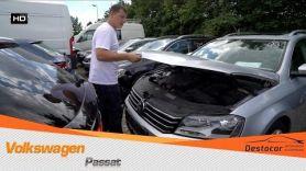 Осмотр Volkswagen Passat Variant, поцарапан.