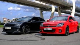 Opel Astra OPC на 300 лошадей.