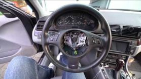 Устанавливаем новый М руль на BMW /// E46 /// 330d