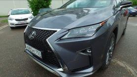 Лексус/Lexus RX. Американские мамочки будут довольны