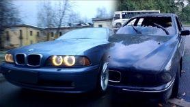 BMW e39. Два месяца переживаний после пожара! 12 серия