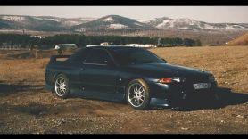 Тест-драйв Nissan skyline GT-R r32