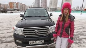ТОП УГОНА Toyota Land Cruiser 200. Обзор от Лиса Рулит.