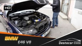 BMW E46 V8 универсал с МОТОРОМ 4,4