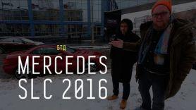 MERCEDES SLC 2016 - Большой тест-драйв