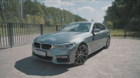 BMW 540i Тест-драйв. Anton Avtoman.