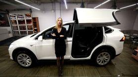 Tesla Model X - электрический кроссовер. За ЧТО ПЛАТИТЬ 16 МИЛЛИОНОВ? Обзор Лиса Рулит.