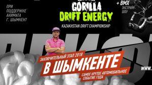 Финальный этап Gorilla Drift Energy 2018